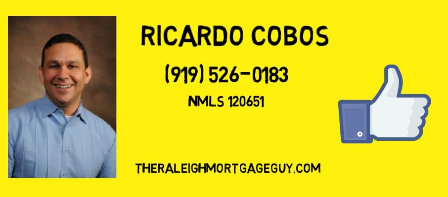 Ricardo Cobos  'the Raleigh Mortgage Guy'